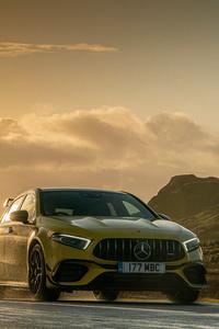 1440x2960 Mercedes Amg A 45 5k