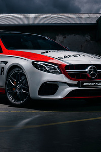 640x1136 Mercedes AMG E 63 Safety Car 2018