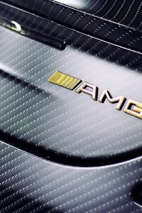 Mercedes AMG Gold Logo