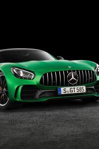 Mercedes AMG GT Green