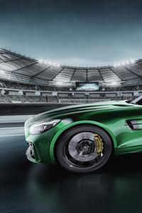 320x480 Mercedes AMG GT R CGI
