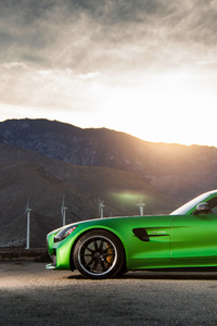 Mercedes Amg Gt R Side View