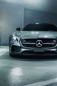 Mercedes AMG GT S 2018 Front