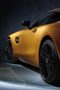 Mercedes AMG GT S Rear