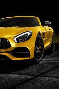 Mercedes AMG GT S Roadster 2018 Front