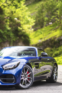 320x568 Mercedes AMG GT S Roadster 2019