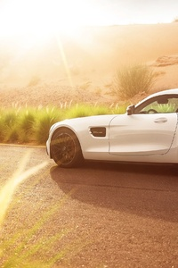 Mercedes AMG GT S Supercar 4k