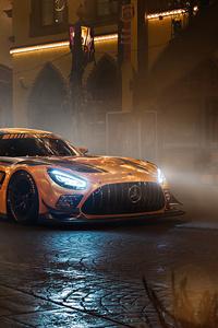 320x568 Mercedes Amg Gtr 2019