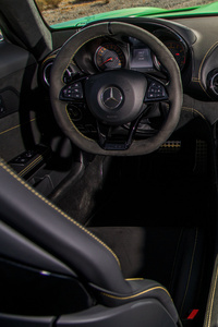 Mercedes AMG GTR Interior