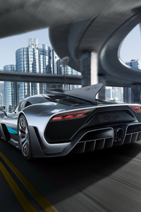 Mercedes Amg Project One Rear 2017