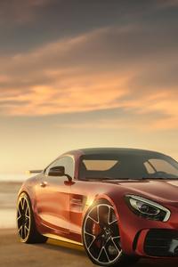 Mercedes Benz Amg Gt CGI 4K