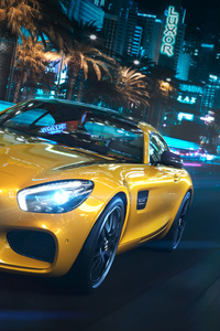Mercedes Benz Amg GT Front