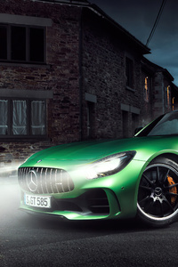 1440x2960 Mercedes Benz AMG GT R Night