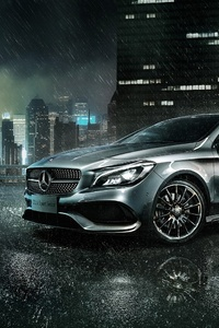 320x568 Mercedes Benz CLA