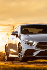 Mercedes Benz CLS 450 4MATIC AMG Line 2018 Front
