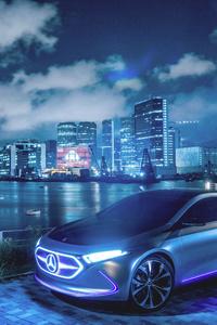 Mercedes Benz Concept EQA