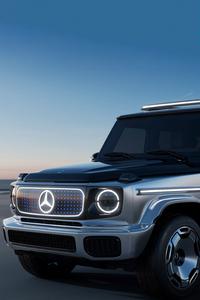 2160x3840 Mercedes Benz Concept EQG