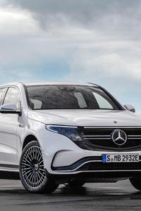 1440x2960 Mercedes Benz EQC 2020 8k
