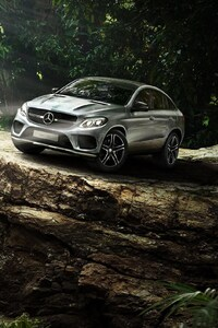 640x960 Mercedes Benz GLE Couple