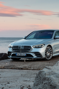 480x800 Mercedes Benz S 350 D AMG Line 2021