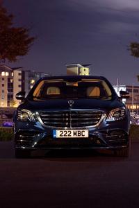 Mercedes Benz S 350 D Lang AMG Line 2017 Front