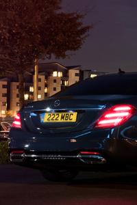 Mercedes Benz S 350 D Lang AMG Line 2017 Rear