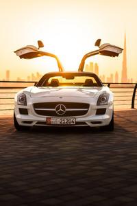 Mercedes Benz SLS AMG Sports Car