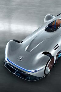 Mercedes Benz Vision EQ Silver Arrow 2018 4k