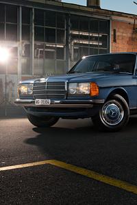 1080x2280 Mercedes Benz W123