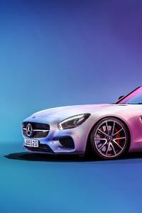 1080x1920 Mercedes C190 AMG GT 4k
