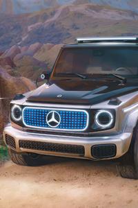 320x480 Mercedes Eq Concept 5k