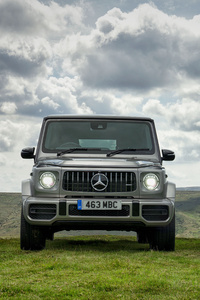 Mercedes G 63 2018 Front View