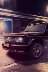 1440x2560 Mercedes G Wagon 2019 4k