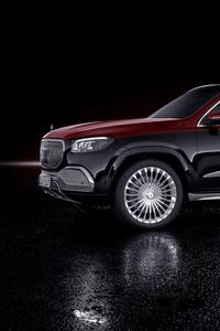 320x480 Mercedes Maybach GLS 600 4MATIC 2020 10k