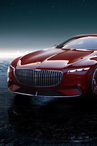 Mercedes Maybach Vision 6 4k