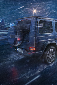 320x568 Mercedes New G Wagon 2019