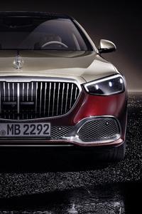 1080x2280 Mercedes S Class Maybach 2020