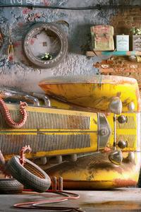 Mercedes Vintage Car Rebuild Environments 5k