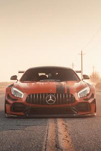 480x800 Mercedesbenz Amg Gtr 4k