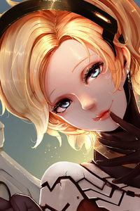 Mercy 4k Overwatch Artistic Artwork