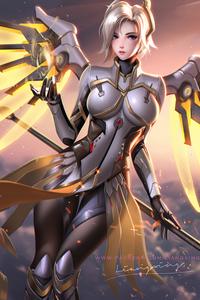2160x3840 Mercy Overwatch 2 4k