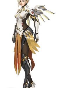 1280x2120 Mercy Overwatch 2