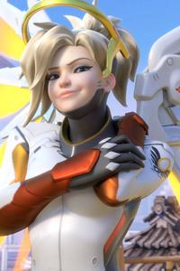 Mercy Overwatch Arts