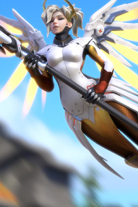 Mercy Overwatch Artwork 4