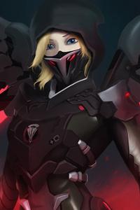 Mercy Overwatch Blackwatch 5k
