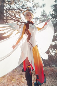 360x640 Mercy Overwatch Cosplays