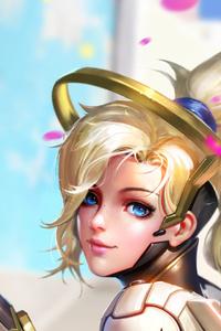 Mercy Overwatch Digital Arts
