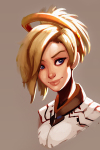 Mercy Overwatch Fan Art Hd