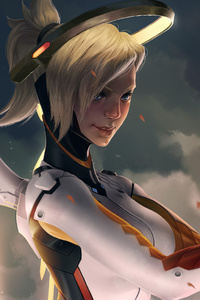 Mercy Overwatch Game Artworks