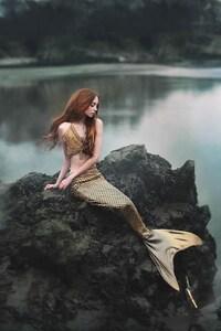 1080x2280 Mermaid Dress
